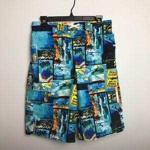 OP Swim Shorts. Size 18